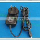 12vdc power cord 24w 12v 2a Australia adaptors passed UL GS CE KC                                                                         Quality Choice
