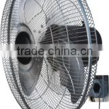 Cool Electric Wall Fan with 3-speed Control and overheat protection with CB CE certificate
