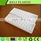 Disposable surgical vial medical plastic tray