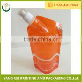 China products Green Packaging Optional aluminum nozzle spout bag,drink pouch with spout packaging