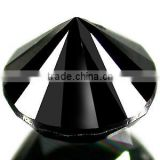 Brilliant cut 5.00 carat AAA quality natural loose black diamond round cut By Indian Manufacturer