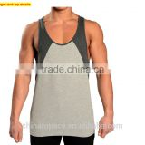 100% Cotton Wholesale Sexy mens sports wear bulk custom wrestling stringer singlet gym bodybuilding tank top