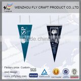 triangular felt flag with all kinds brands for promotion