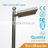 alibaba sign in solar lights bridgelux chip waterproof solar led street light