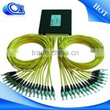 pc plastic fiber splice closure with splitter CWDM System/PON Networks/CATV Links optic fiber splitter
