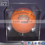 Shenzhen factory custom acrylic crystal basketball /baseball display case /box
