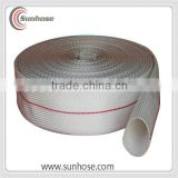 2' high quantity PVC Fire Hose with couplings canvas fire hose