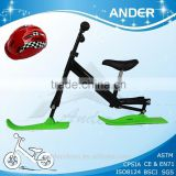 Kid snow sled/scooter snow bike / best selling baby product (Accept OEM service)