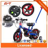 Hot selling kids 12 inch licensed bike with handle for sale