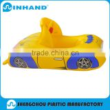 non phthalate towable baby pvc inflatable rider, float beach pool toys