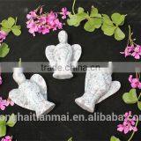 Wholesale Quartz Crystal Angels Carving /Natural Gemstone Angel Figurine
