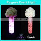 Compatitive price 4 inch round single color table centre piece for wedding