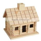 hot selling FSC&ISO9001&BSCI garden wild wooden carved bird cage house hotel for decoration