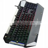 FL-ESPORTS USB Wired Rainbow Backlight for mechanical portable Gaming Keyboard