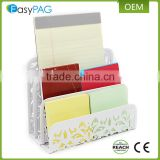 EasyPAG white color metal office desk square letter paper tray