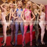 Hot Spider's Net Babydoll Dress Sexy lace Lingerie Underwear open crotch BODYSTOCKING