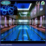 MSOF-6-14 multi strand side glow fibre optic lighting cable for swimming pool lighting