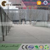 Commercial construction vinyl plank wpc decking flooring