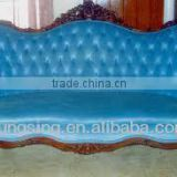 blue fabric elegant victorian furniture sofa for sale