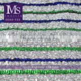 Best quality 100 polyester mesh sequin beaded french cloths lace fabric