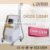 Painless Laser Diode Hair Reduction 808nm Diode 10-1400ms Laser In Motion Hair Removal Machine 1-10HZ
