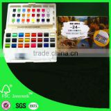 profession water color cake watercolor solid paint set