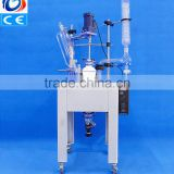 Full-Automatic high quality lab single layer glass chemical reactors