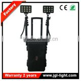 IP65 waterproof rechargeable led portable tower lightrailway spotlight