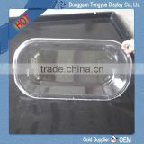 PC transparent vacuum form hospital baby shower tray