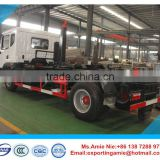 hot sale 10m3 to 12m3 dongfeng rear hook loader garbage truck