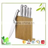 Natural bamboo decorative knife holder