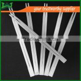carbonized color Square Bamboo Chopsticks A grade