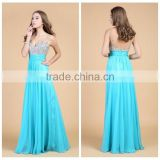 2015 beaded ruffled prom designer evening dress online