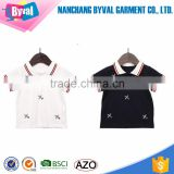Kids spandex cotton printed polo shirts short sleeve premium polo shirts for children wholesale