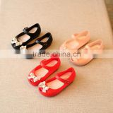 LM3079Q summer bow kids jelly shoes fashion baby sandal shoes