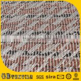 Passed ISO9001woven pvc weight room flooring