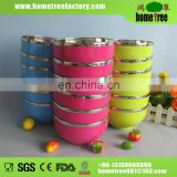 2014 hot sale stainless steel soup bowl 650ml