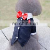 2015 new spring/ summer Court style Dovetail suit, dog clothes