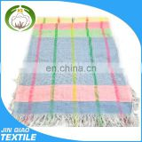 cheap polyester jacquard fringe towels