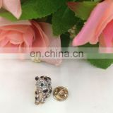cheap price hot sell fashion rihionestone tiger button nail on clothing or bags or shoes