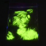 UV fluorescent fiber yellow