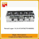 excavator engine parts Renault Logan 1.4L 8v K7J K7M(7701468858) cylinder head