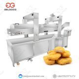 French Fries Frying Machine Fully Automatic Fried Chicken Nugget