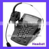 top quality land line phone headset for call center