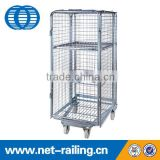 Folding supermarket warehouse Hotel Housekeeping Maid Cart Trolley