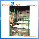 Hot dip galvanized metal iron steel solar kits solar power energy securit fence solar mounting protective
