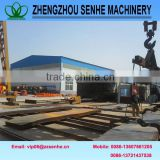 Building materials mixing production line
