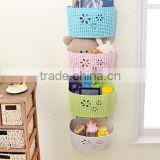 Hanging Basket Plastic hanging basket Storage basket bathroom hanging basket plastic bathroom rack