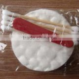 Hotel Disposable Vanity Kit, Cotton Pads/Cotton Balls/Cotton Swab/Nail Files /make up vanity kit