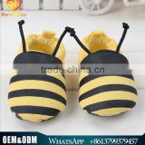 Hot sale cute little bee baby prewalker shoes toddlers infant baby non-slip soft sole cotton shoes